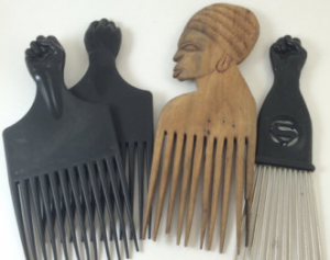 black-fist-afro-comb